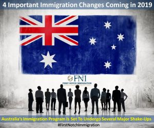 Australia: 4 Important Immigration Changes Coming in 2019