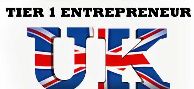 Entrepreneur Visa Tier 1